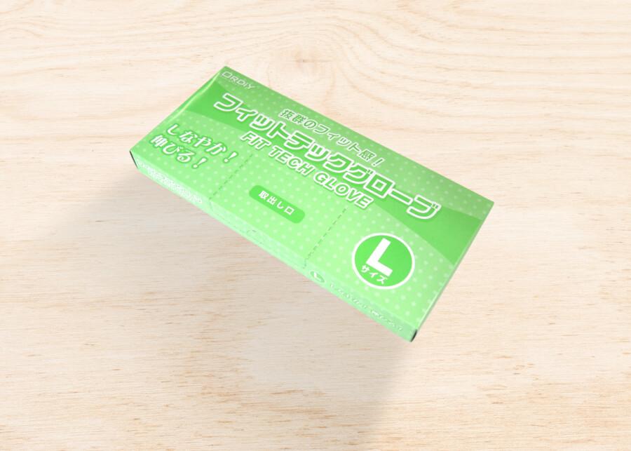 パッケージデザイン作成例Lサイズ