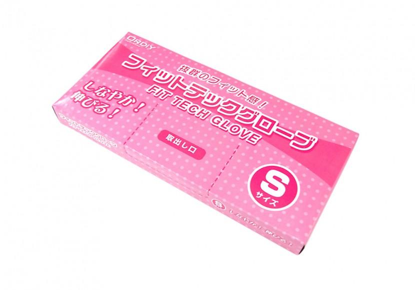衛生ポリ手袋のパッケージ Sサイズ