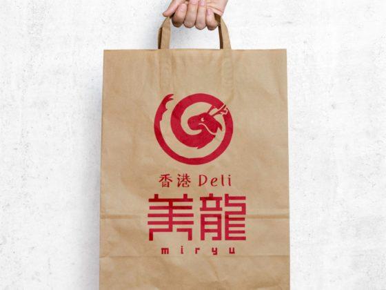 テイクアウトデリのお店ロゴ