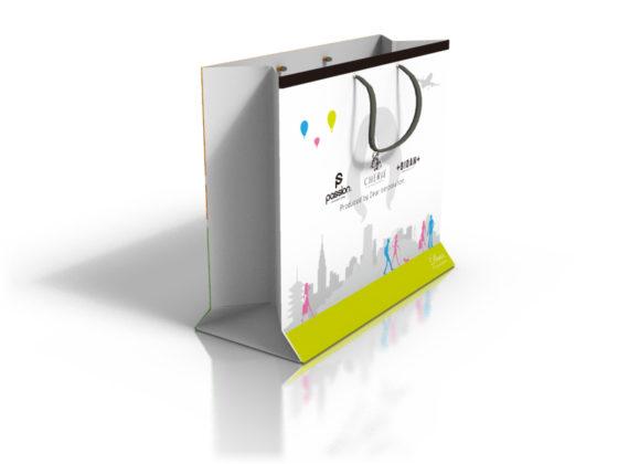ウィッグ販売用紙袋デザイン2