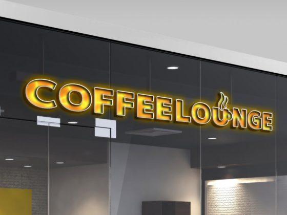 カフェラウンジのロゴマーク