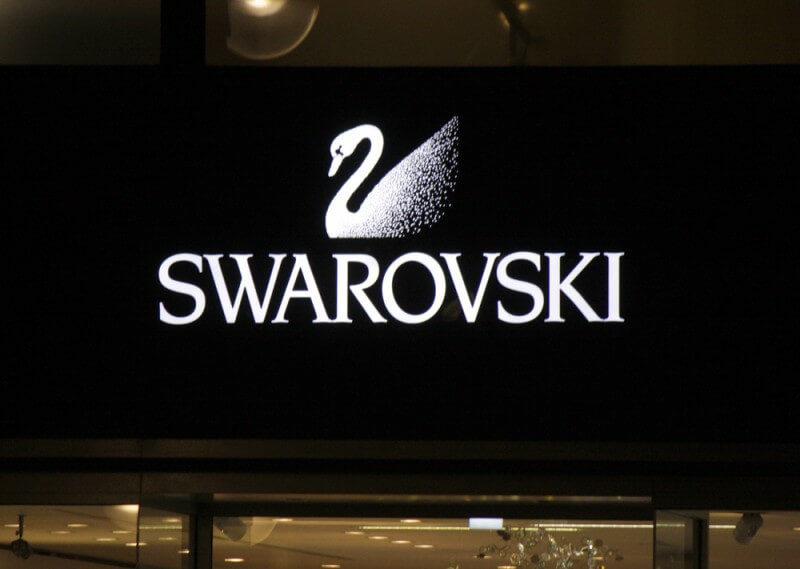 スワロフスキーのロゴデザイン