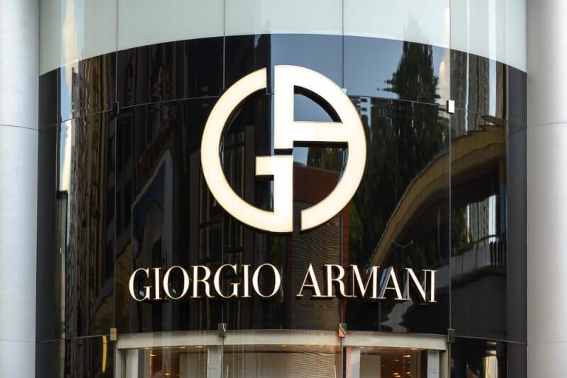 ジョルジオアルマーニのロゴデザイン