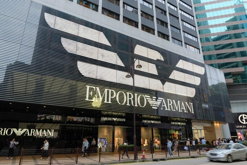 エンポリオアルマーニのロゴデザイン
