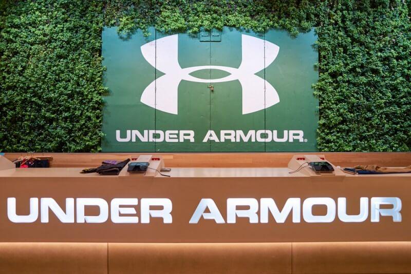 アンダーアーマーのロゴデザイン