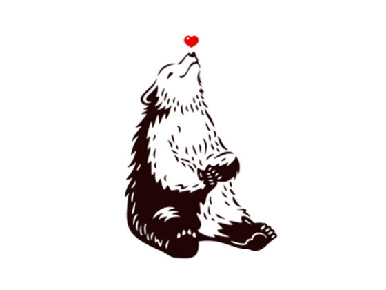 キャラクターのロゴ