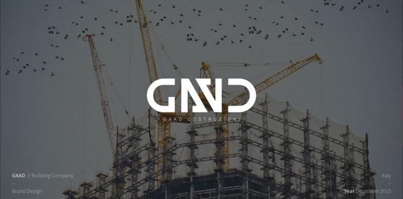 建設会社のロゴ