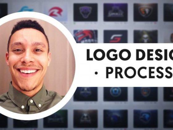 デレックのロゴ制作プロセスを紹介