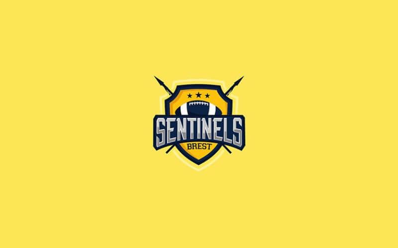 アメフトチームのロゴ
