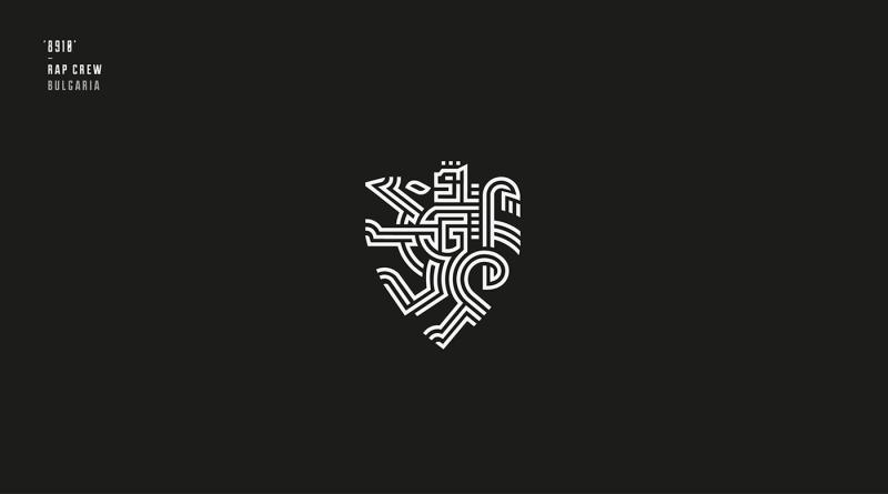 ラップグループのロゴ