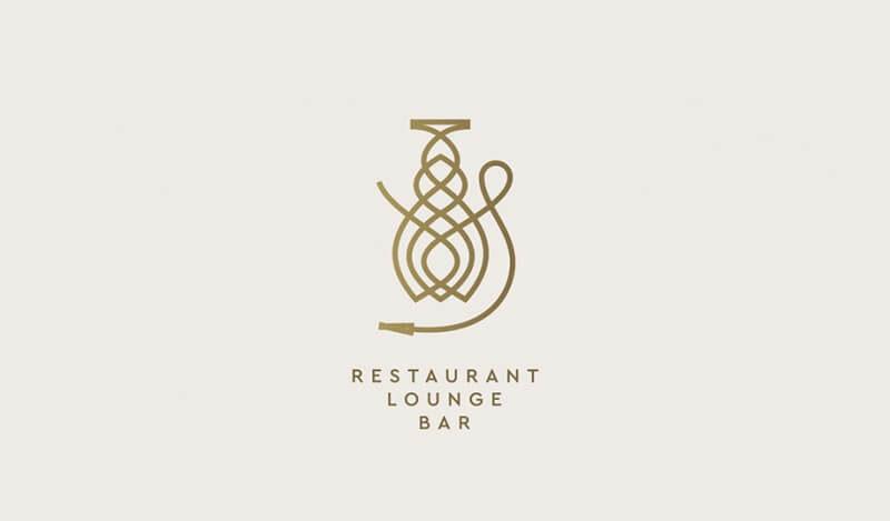 レストランのロゴマーク