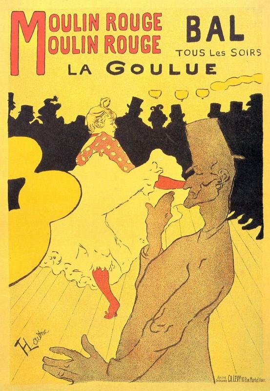 ムーランルージュのポスター
