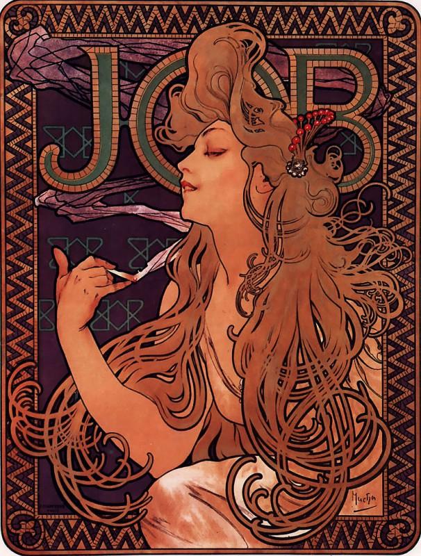 JOB社の煙草ポスター(1896)
