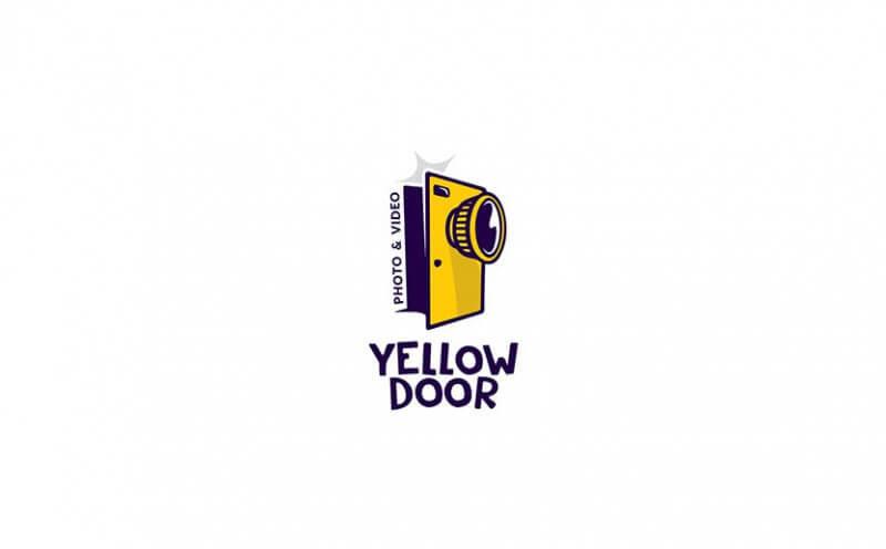 黄色いドアのロゴマーク
