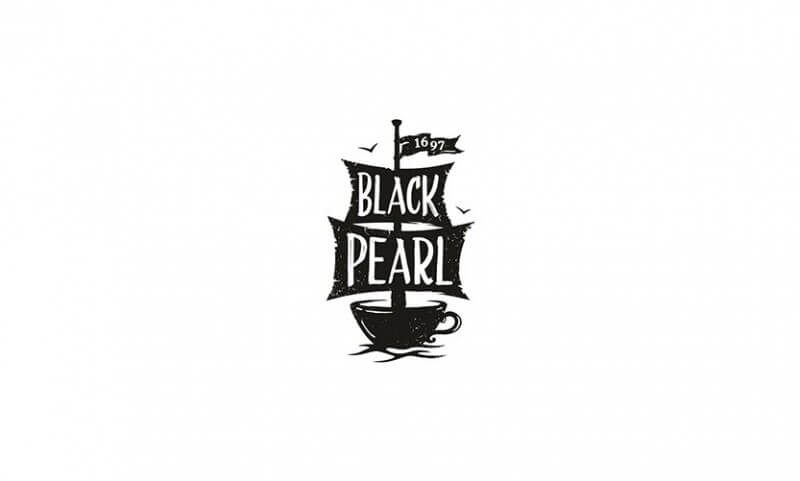 海賊船風のバーのロゴ