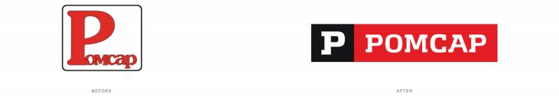 ロゴのビフォーアフター