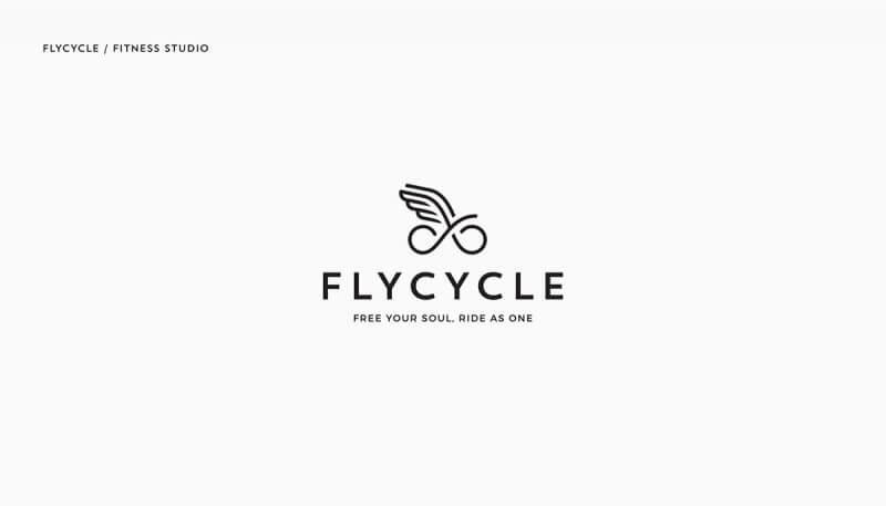 自転車フィットネスのロゴ