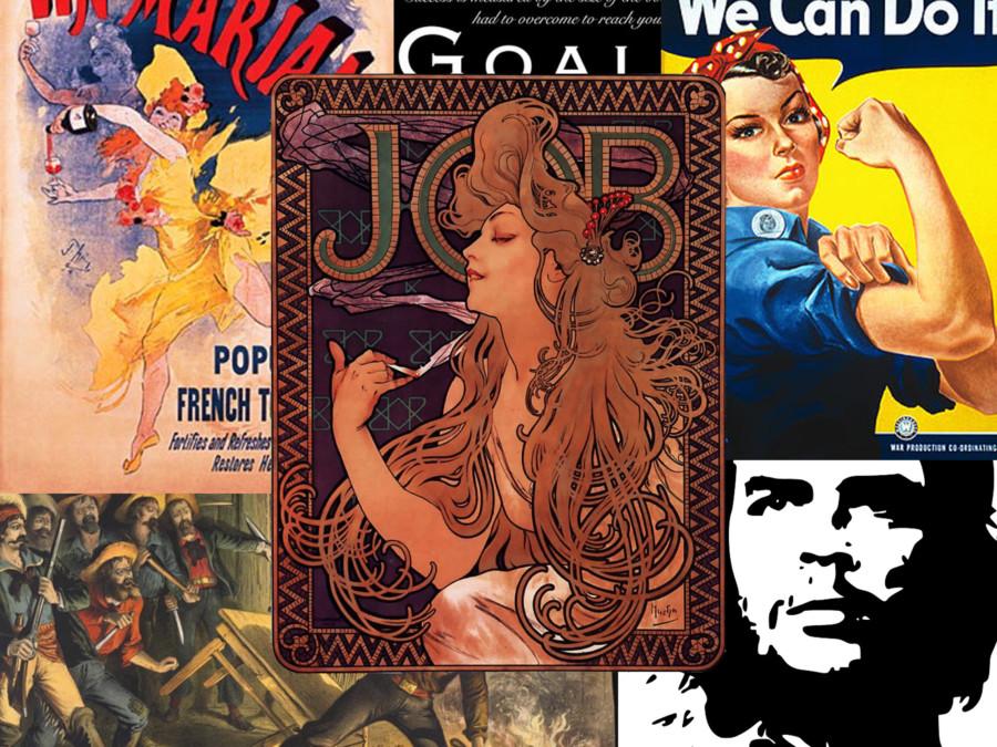 ポスターとは?ポスターデザインの歴史と基礎知識