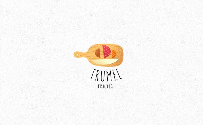 レストランのロゴデザイン