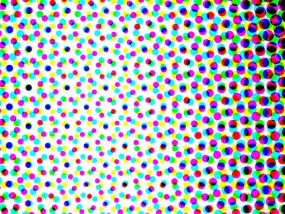 4色の集合体