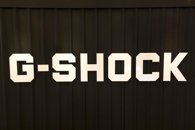 G-SHOCKのロゴ