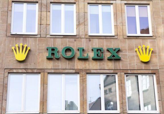 ロレックスの旧ロゴ