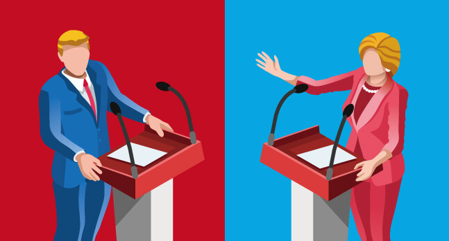 大統領選のロゴマーク