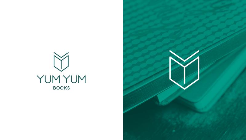 本屋のロゴ制作例