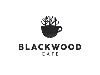 カフェのロゴ