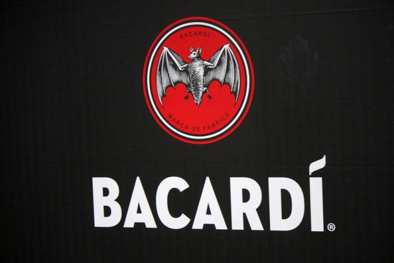 バカルディの旧ロゴ