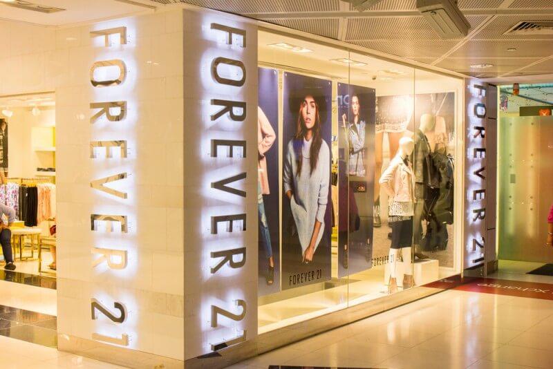 Forever 21のロゴデザイン