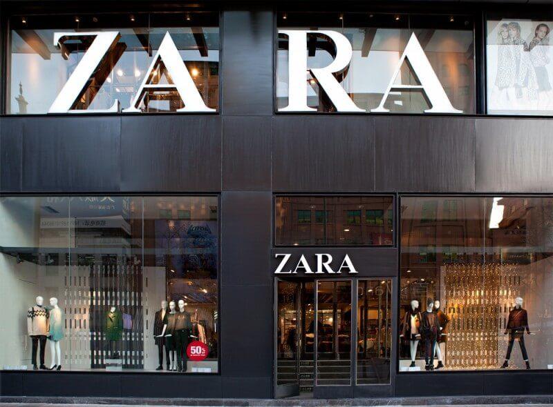 ZARAのロゴデザイン