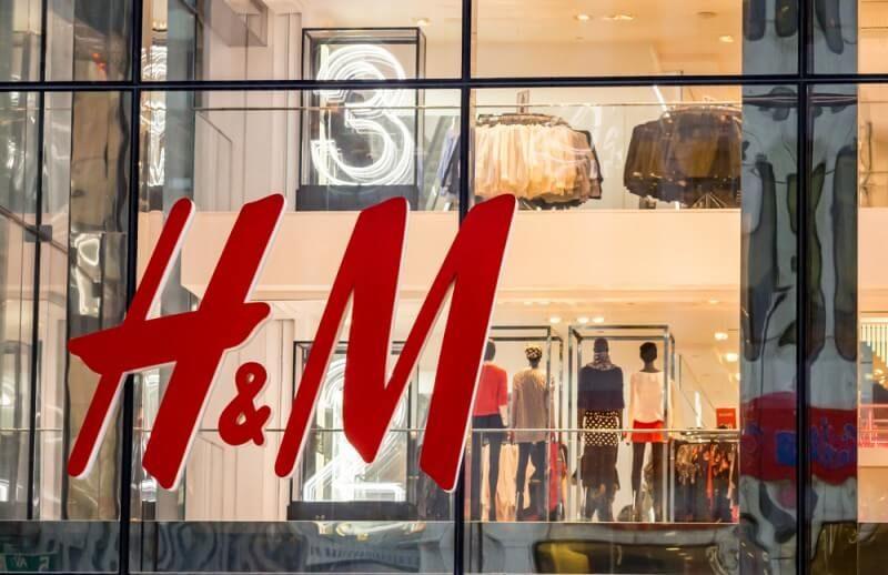 H&Mのロゴデザイン