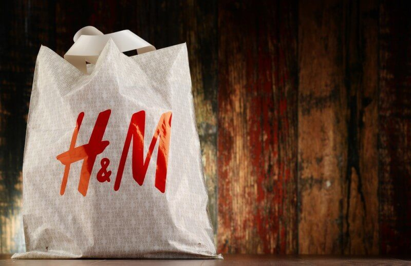 H&Mのショッパー