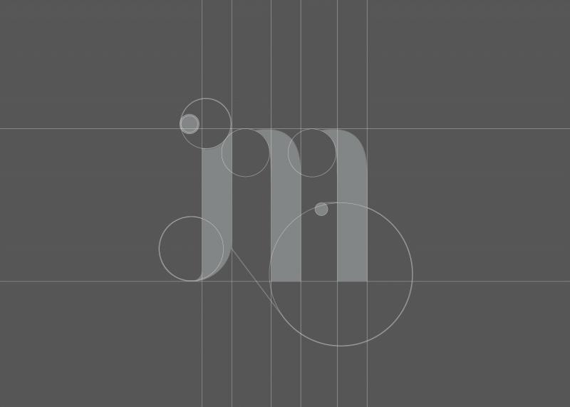 セルフブランディングのロゴ展開例1
