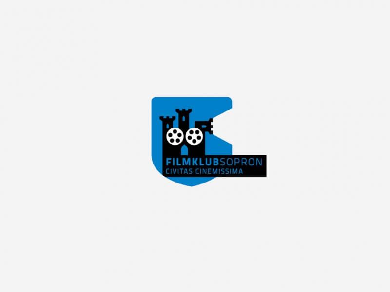 野外映画館のロゴデザイン