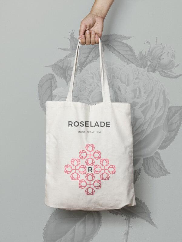 ローズジャムの商品ロゴ展開例3