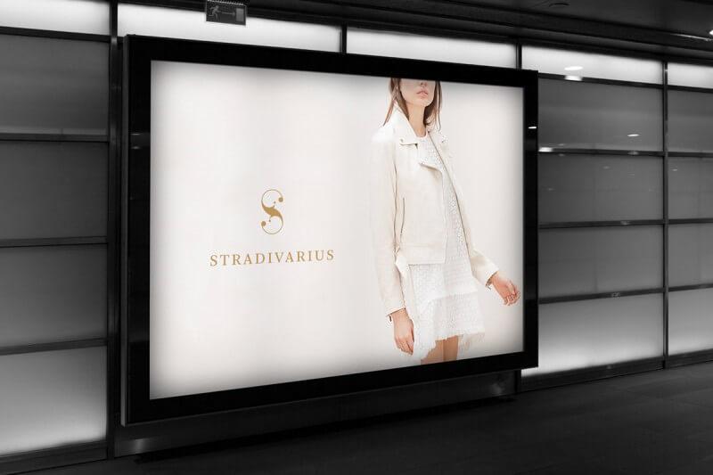 ファッションブランドのロゴ展開例4