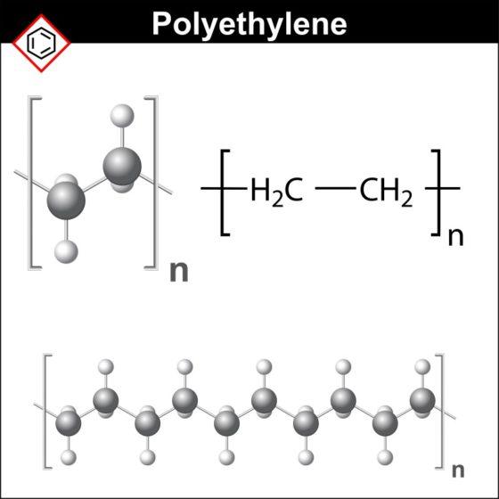 ポリエチレンの化学式