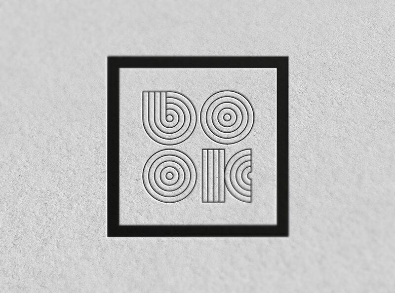 出版社のロゴ制作例