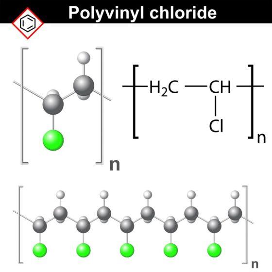 ポリ塩化ビニルの化学式