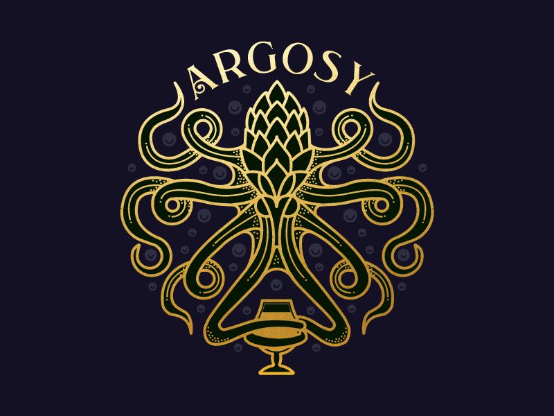 The Argosyのロゴデザイン