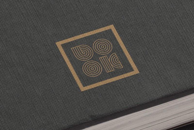 出版社のロゴ展開例
