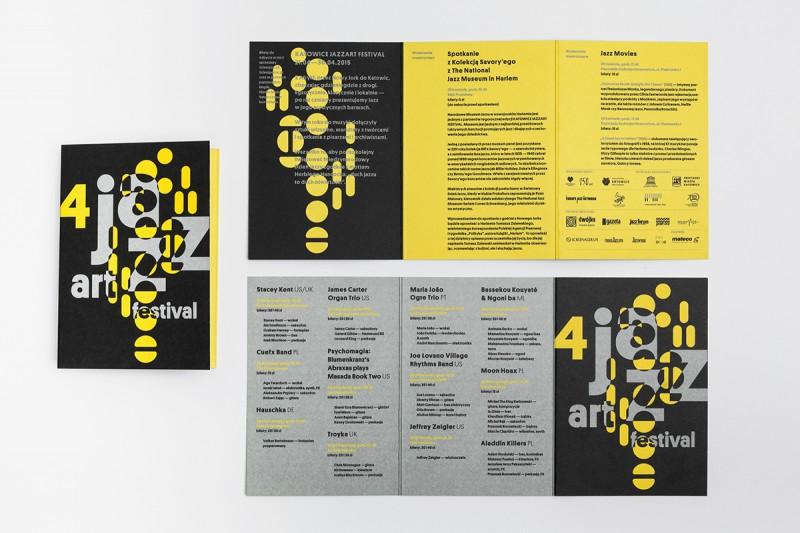 コンサートの三つ折りパンフレット制作例