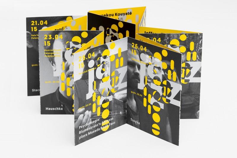 コンサートのパンフレット制作例