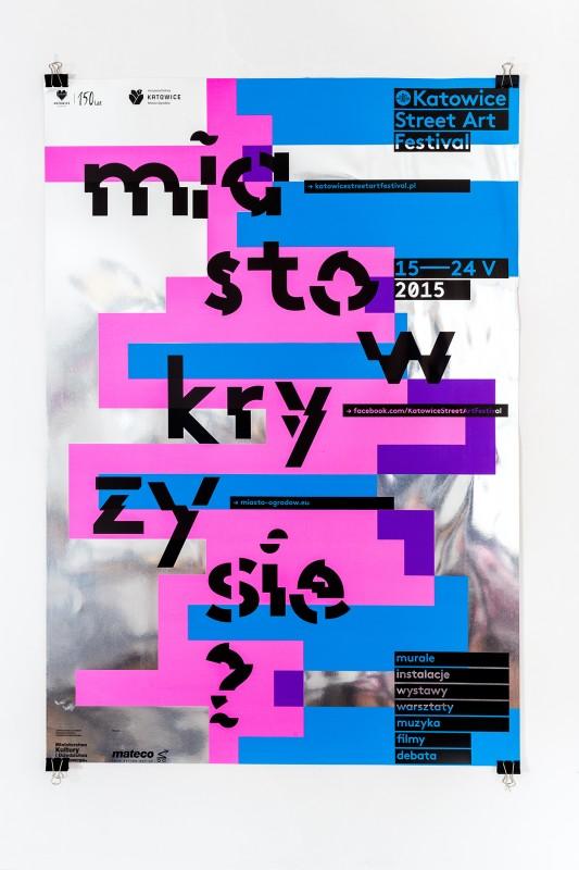 アートフェスティバルのポスター制作例