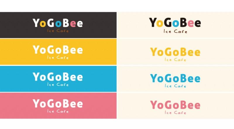 アイスカフェのロゴデザイン