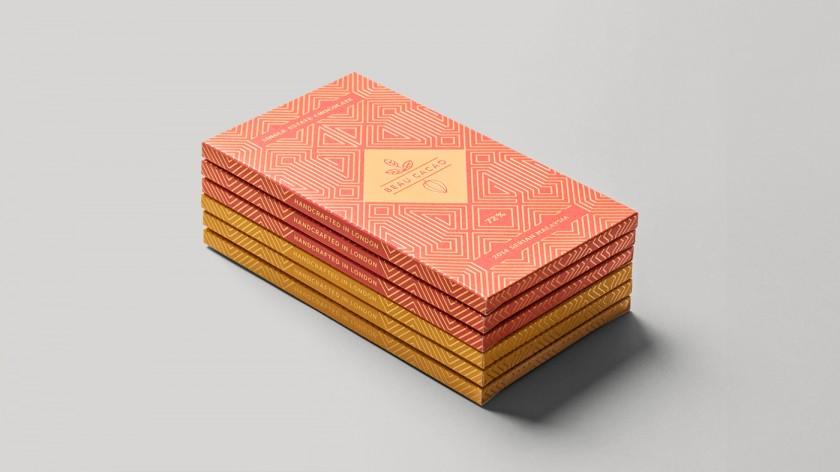 チョコレートのパッケージ制作例