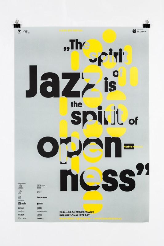 ジャズイベントのポスターデザイン