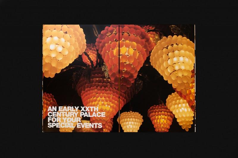 建築イベントのパンフレットデザインの中面3
